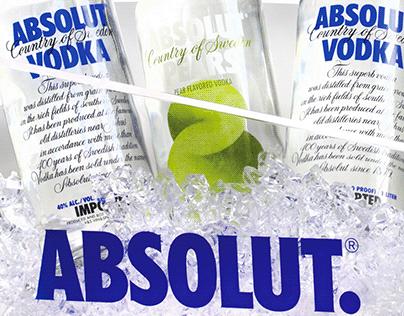 Ice bucket - Absolut Vodka