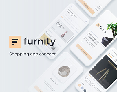Furnity - shopping app concept