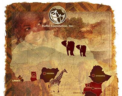 Rafiki Foundation Map