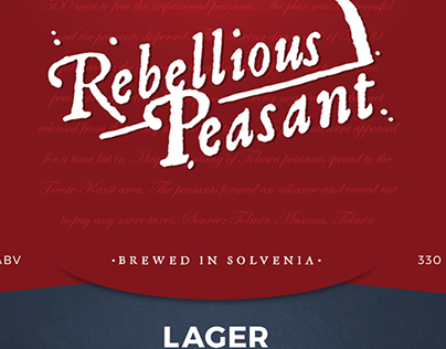1713 Brewery • branding/bottle label concept