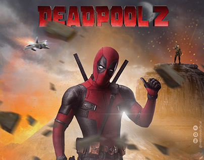 non-official poster for deadpool 2