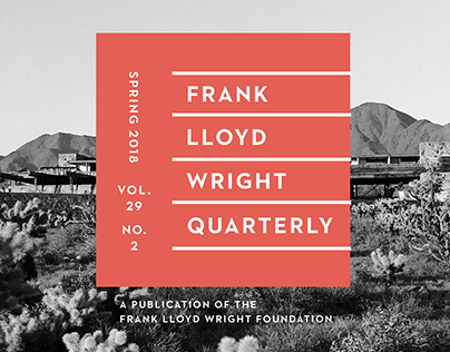 Frank Lloyd Wright Quarterly