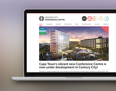 Century City Conference Centre Website & Floor Plan App