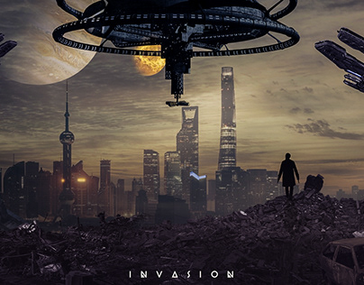 Invasion - Photo Manipulation