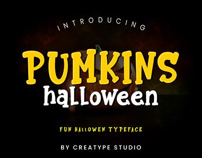 Pumkins Halloween - Fun Typeface