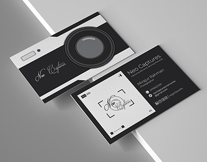 Neo Captures | Business Card Design