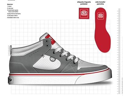 Drop Dead Skateboards Footwear Collection