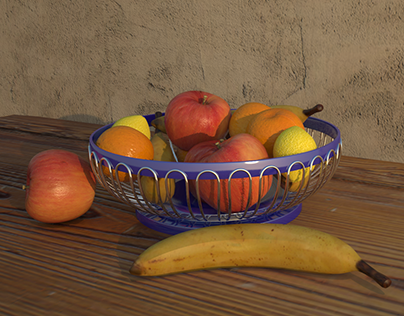 Fruits Vray Rendering