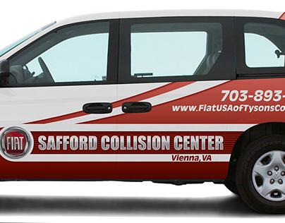 Vehicle Wrap - Fiat of Tysons Corner
