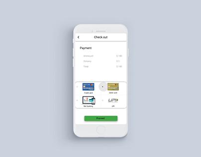 Payment Process/ Popup Screen