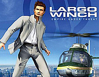 """Largo Winch"" (PS2/GC/XBox) - UbiSoft"