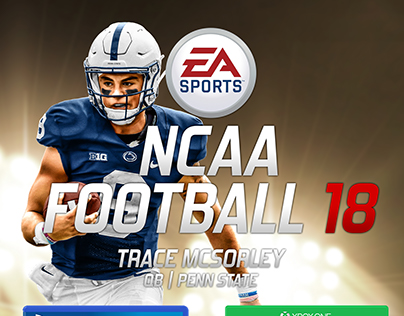 NCAA Football Concept Cover Release