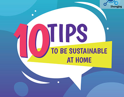 10 Tips to be sustainable at home