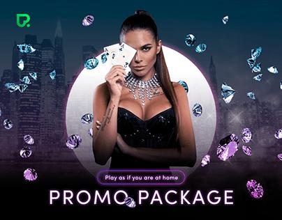 POKERDOM — Landing Page   Promo Gambling Betting Design