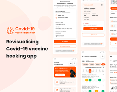 COVID-19 Vaccine Booking App