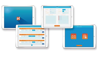 Marketchecklist / Diseño gráfico de aplicación móvil
