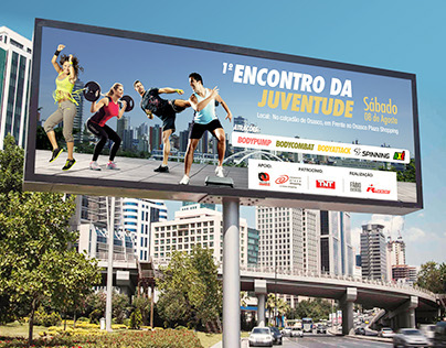 Outdoor - Evento academia