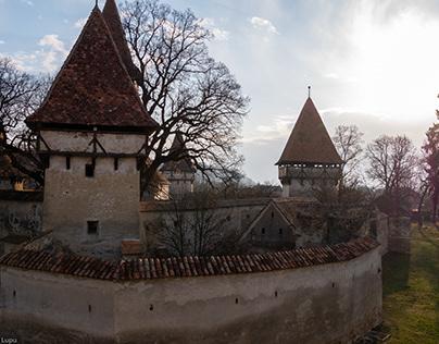 Romanian Historic Places - Cinsor and Fagaras