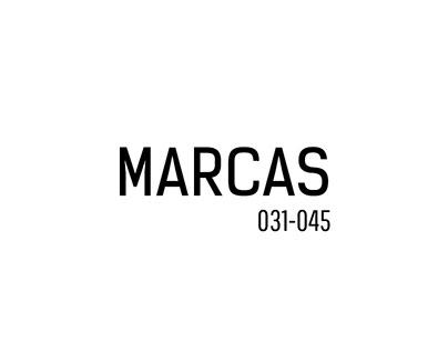 Marcas 031-045