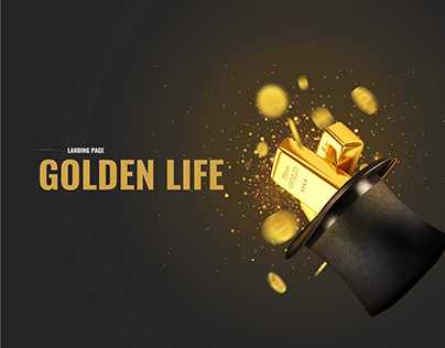 Golden Life, Landing page