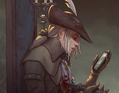 Lady Maria / Bloodborne