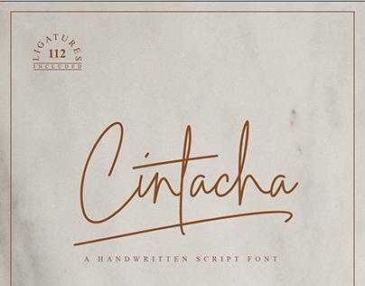 Cintacha Script Font
