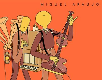 Album Illustration for Miguel Araújo