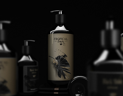 Black Shine Packaging Bathroom Set