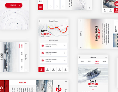 UI/UX mobile projects 17