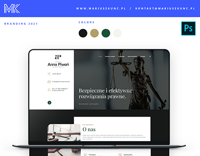 Kancelaria Adwokacka / onepage