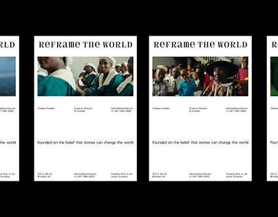 Reframe the World Branding