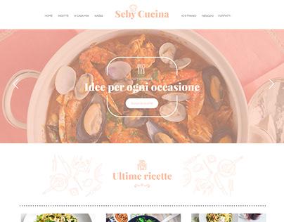 Seby Cucina | Web Design - Landing Page