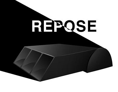 Repose pencil holder