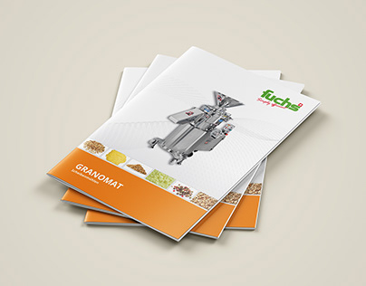 Machinery product catalogue design