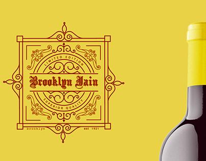 Brooklyn Jain Concept wine bottle