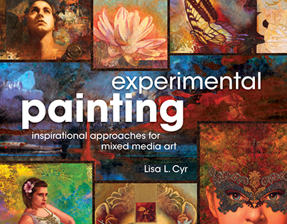Experimental Painting by Lisa L. Cyr