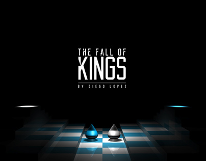 The fall of kings - Chess animation.