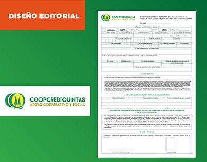 Diseño formularios empresariales