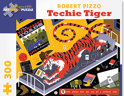Techie Tiger Puzzle from Pomegranate