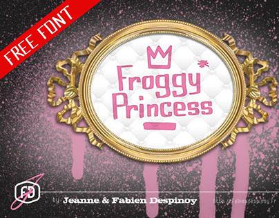 Froggy Princess - Free font