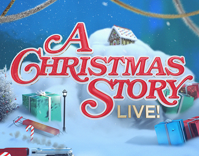 A Christmas Story Live! - Broadcast Design Package