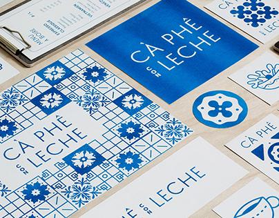 Cà Phê Con Leche | Brand identity