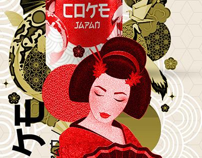 Coke Japan Redesign