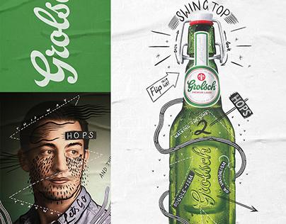 Grolsch: The Art of Doodle-ism