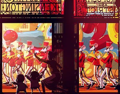 South Kensington Rat Parade