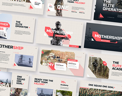 Free Army Military PowerPoint Presentation Template
