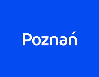 Poznań City - Visual Identity / Logo Rebrand