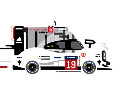 LUMO 2015 Porsche 919 hybrid