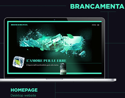 Brancamenta - Website Restyle design