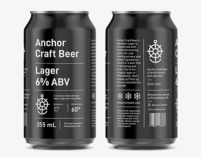 Anchor Craft Beer Brand Identity